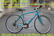 Where can I rent a bike in HaiPhong city VietNam?